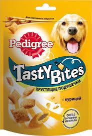 """Лакомство для <b>взрослых собак</b> Pedigree """"<b>Tasty</b> Bites"""", хрустящие ..."""