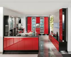 gloss cabinet doors kitchen cabinets image of red high gloss kitchen cabinets