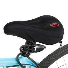 Mountain <b>Bike Bicycle</b> Saddle Seat Cover Soft 3D Foam <b>Pad</b> ...