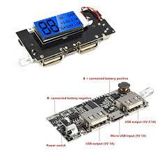 xcluma <b>Dual USB 5V</b> 1A <b>2.1A</b> Mobile Power Bank 18650 Battery ...