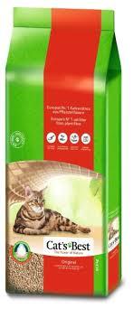 Комкующийся <b>наполнитель Cat's Best</b> Original 40 л — купить по ...