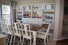Built In Cabinets Dining Room Dining Room Makeover Featuring Ikea Faux Built Ins A Small Snippet