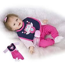 Amazon.com: <b>KEIUMI 22</b> Inch Reborn Baby Doll Lifelike <b>Soft</b> ...