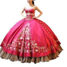 <b>New Red</b> Embroidery <b>Ball Gown</b> Quinceanera <b>Dresses</b> 2018 ...