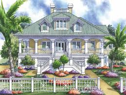 Home Plans   Wrap Around Porch   Home Designs   Wrap Around     Bedroom Low Country Home Plan HOMEPW