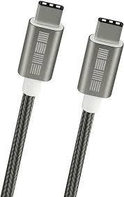 <b>Кабель Interstep</b> TypeC-TypeC USB2.0, AA, <b>M-M</b>, 1 м, Space Grey ...