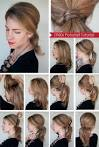 Фото уроки прически на средние волосы своими