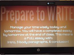 how to write a persuasive paragraph preparing to write