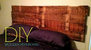Diy Wood Headboard Diy Wooden Headboard Youtube
