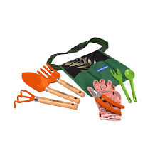 <b>8 pieces garden</b> tool set, printed gift box | Tramontina