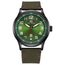 <b>MINI FOCUS Men's</b> Quartz Sports Brand Luxury <b>Analog</b> Date Clock ...