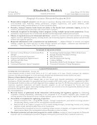 executive director resume sample template executive director resume sample