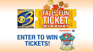Fall Into Fun Ticket Giveaway: '<b>PAW</b> Patrol Live!' at Wings Stadium ...