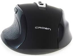 <b>Мышь Crown CMM-935W Black</b> Wireless [CM000001535] - купить ...