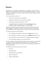 resume who to do a resume template of who to do a resume