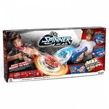 Игрушка <b>Spinner mad Боевой набор</b> 2 Бластера (синий и ...