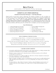 examples of a job resume outline   example of a resume for a    hospitality job resume sample