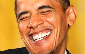 Resultado de imagem para obama sorrindo