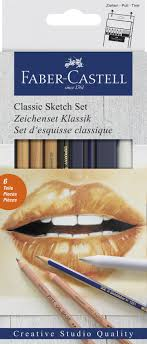 "<b>Набор художественных</b> изделий <b>Faber</b>-<b>Castell</b> ""Classic Sketch"", 6 ..."