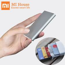 <b>Xiaomi MIIIW</b> Card Case <b>Automatic</b> Pop Up Box Cover Card Holder ...
