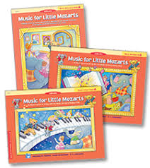 """Music for Little Mozarts"" Curriculum books"