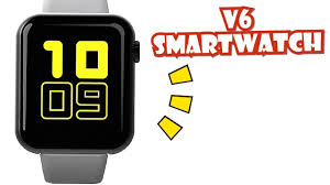 <b>V6 SMARTWATCH</b> UNBOXING AND INITIAL REVIEW | ENGLISH ...
