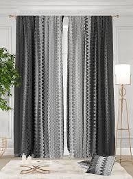 Купить <b>комплект штор</b> «<b>Тирон</b>» серый/черный по цене 5850 руб ...