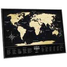 «<b>Скретч карта мира</b> Travel Map Black <b>World 1DEA</b>.<b>ME</b> ...