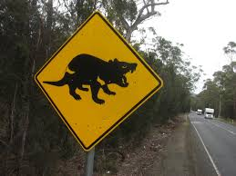 geography essay on tasmania essay includes details english a road sign in tasmania alerting drivers to the presence of tasmanian devils near