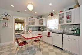 kitchen decor vintage red blue turquoise