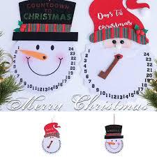 New Lovely Non-woven <b>Christmas</b> Calendar <b>Cartoon</b> Santa ...