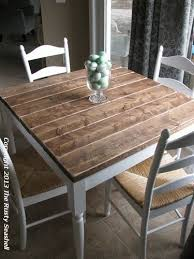 room diy table kitchen
