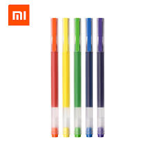 5PCS <b>Xiaomi Mijia Super Durable</b> Colorful Writing Sign Pen Colors ...