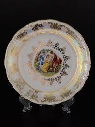 Набор <b>тарелок</b> 17 <b>см</b> Фредерика Мадонна Перламутр (6 шт ...