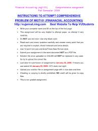 mgt financial accounting assignment solution  mgt1 1 financial accounting assignment 2 solution 2 16