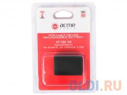 <b>Аккумулятор AcmePower</b> AP-VBK-180 для <b>фотокамеры</b> ...