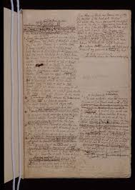 sassoon project blog » images of archival itemspope    s essay on man  manuscript