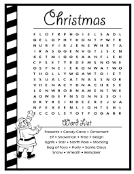 Small Picture 26 best Christmas Word Search images on Pinterest Christmas word
