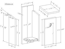 Image result for chickadee birdhouse plan