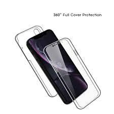 <b>All inclusive</b> 360 <b>Transparent Mobile Phone</b> Case <b>TPU</b> Acrylic PC ...