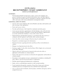 receptionist job description for resume resume badak hotel receptionist job description resume