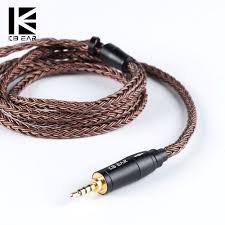<b>KBEAR</b> 16 Core Upgraded Pure <b>Copper</b> Balanced <b>Cable</b> 2.5/3.5 ...