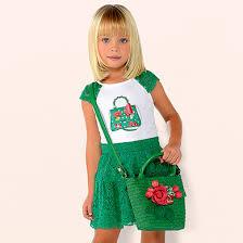 <b>Комплект</b>: <b>блузка и</b> юбка для девочки Зеленый - <b>Майорал</b>