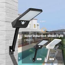 48 LED Remote Control Solar Light PIR Motion Sensor IP65 ...