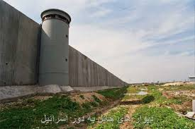 Image result for اسرائیل ساخت دیوار حائل از سر گرفت