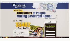 scams go away get a part time job facebook  facebookjobonline work from home program that did not describe what is the job assignment and how it works this page only wanted me to key in my