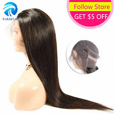 hairugo peruvian straight hair 3 bundles with closure non remy human natural color weave 8 28inch