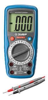 """<b>Мультиметр Зубр</b> """" <b>ПРОФЕССИОНАЛ</b> """" <b>PRO</b>-<b>815</b>-Т цифровой ..."""