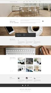 real estate website template office for rent website template