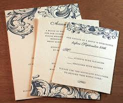 wording your rsvp cards the accept or decline edition Declining A Wedding Invitation baroque styled letterpress wedding invitation set declining a wedding invitation etiquette